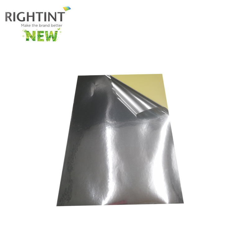 Self Adhesive Bright Silver PET Glassine Liner in Roll Or Sheet