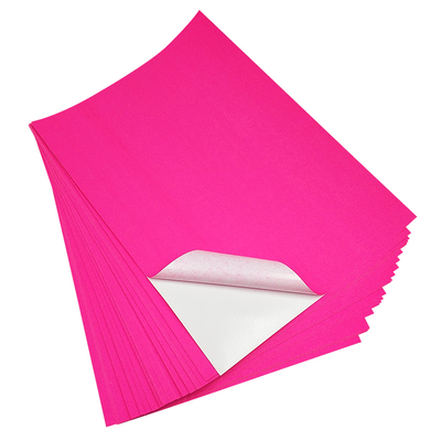 Self Adhesive Fluorescent Paper Glassine Liner in Roll Or Sheet